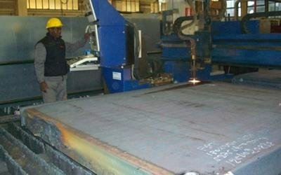 Flange ferro