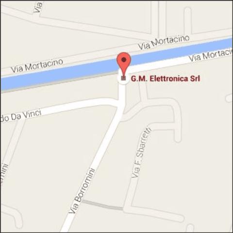 GM Elettronica sede Terracina