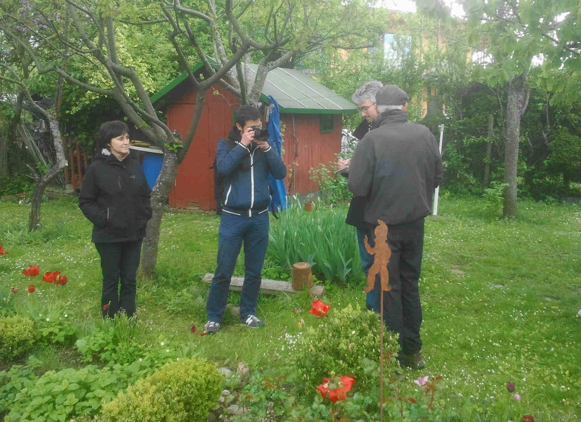 FAZ bei Gartenleben