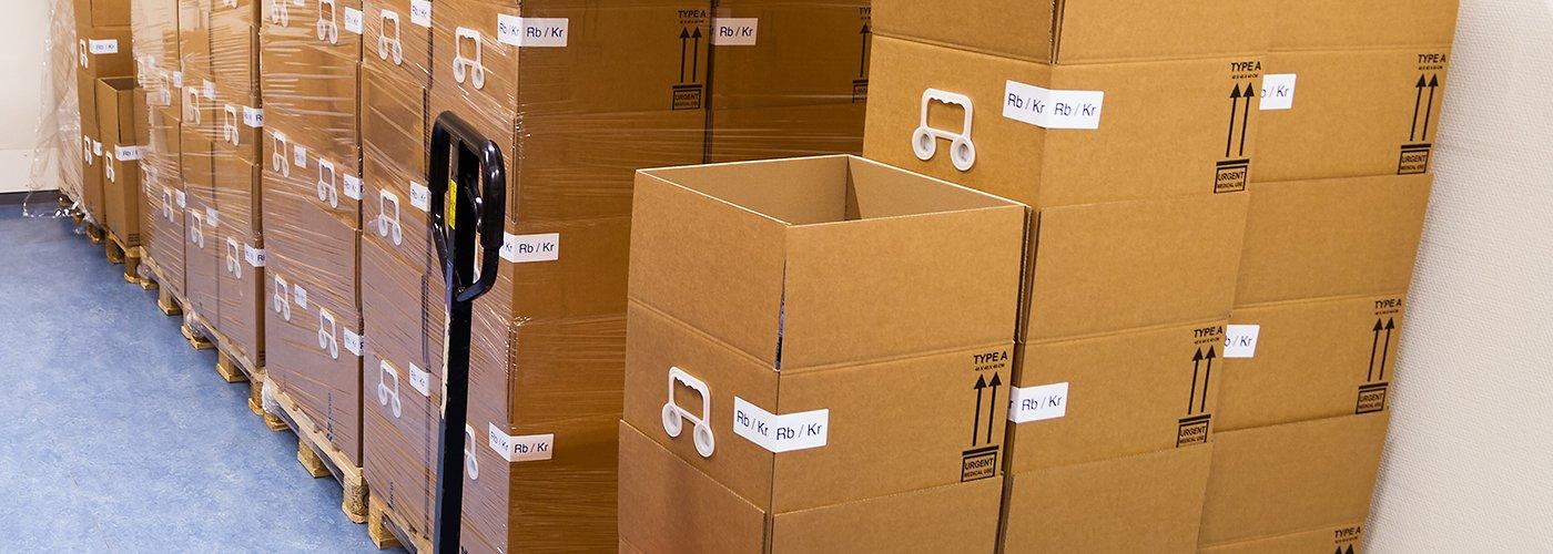 Scate di cartone per imballaggi e traslochi