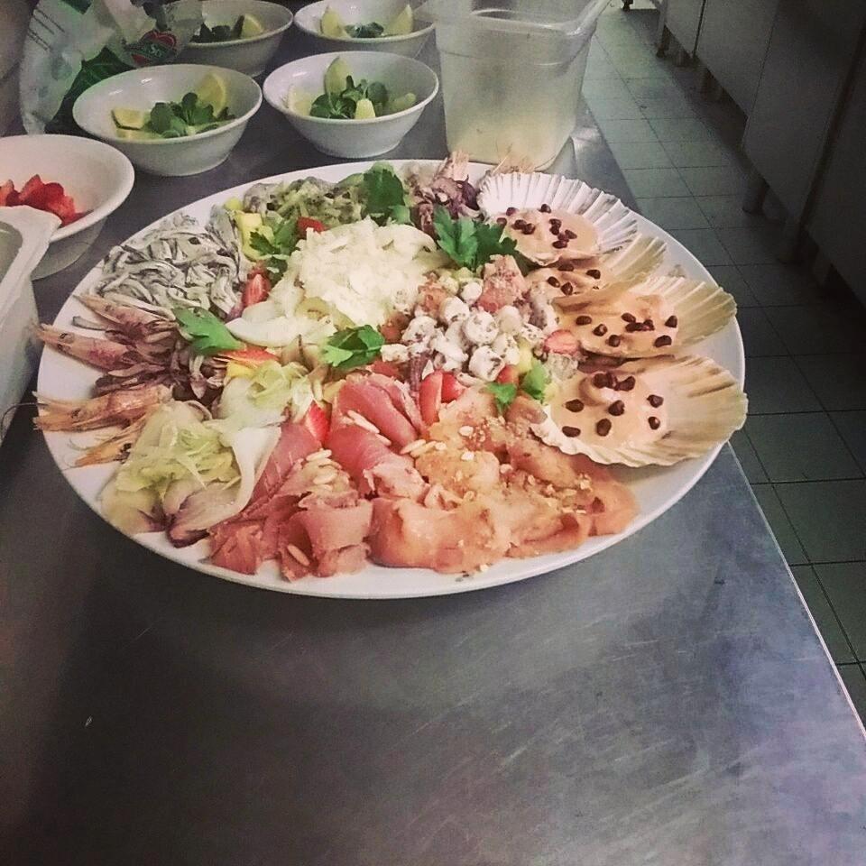 mix dello chef per 12 pax