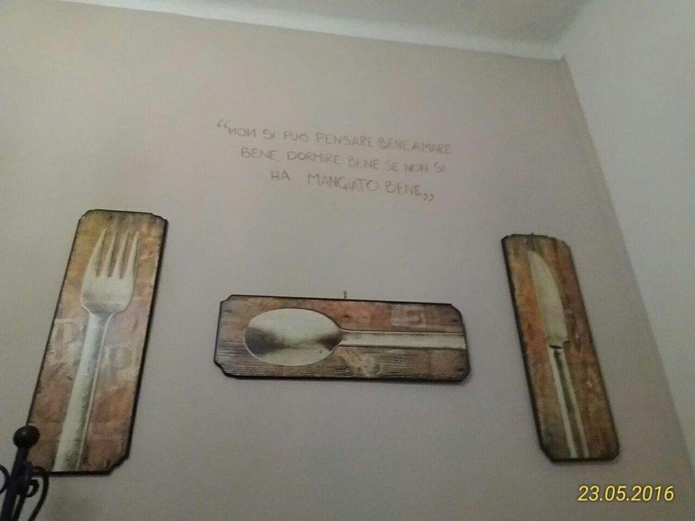 Cucina da Robby - scritte