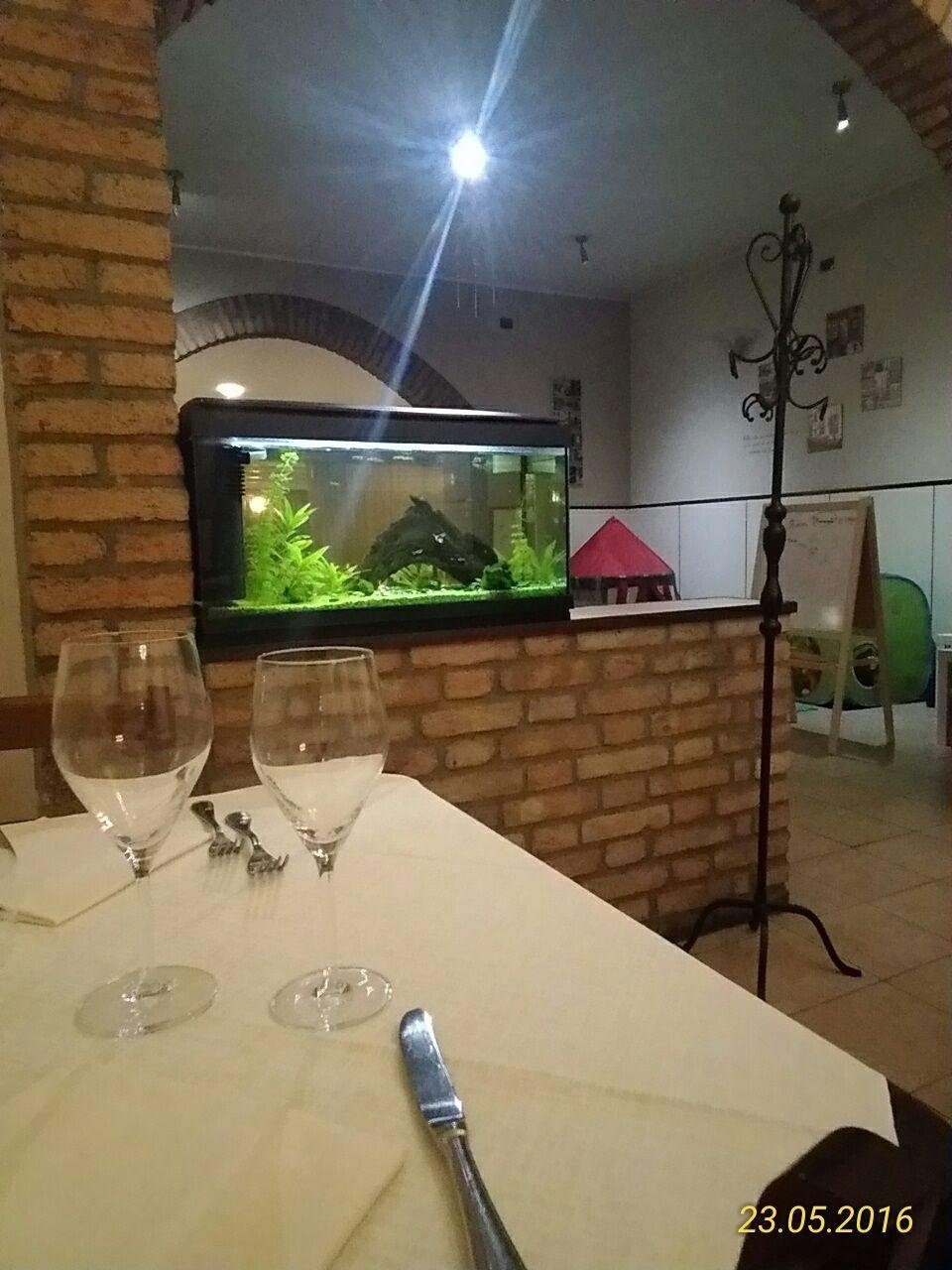 Cucina da Robby - prima sala acquario