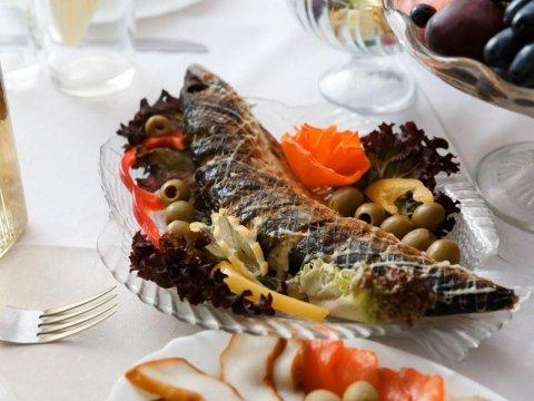 Piatti di pesce a Bazzano