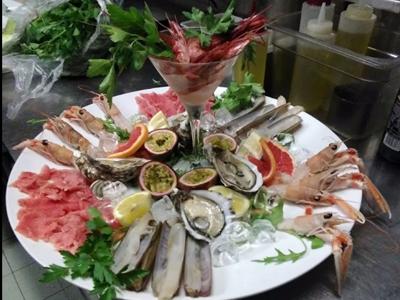 Crudità di pesce all'italiana