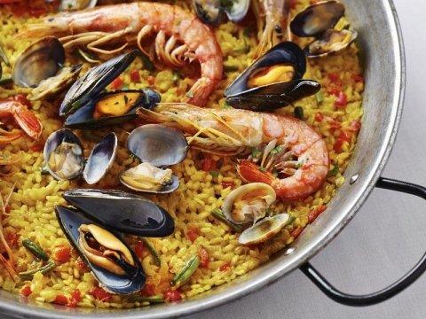 Paella spagnola a Bazzano