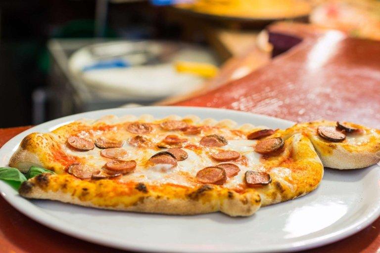 Pizza artistica