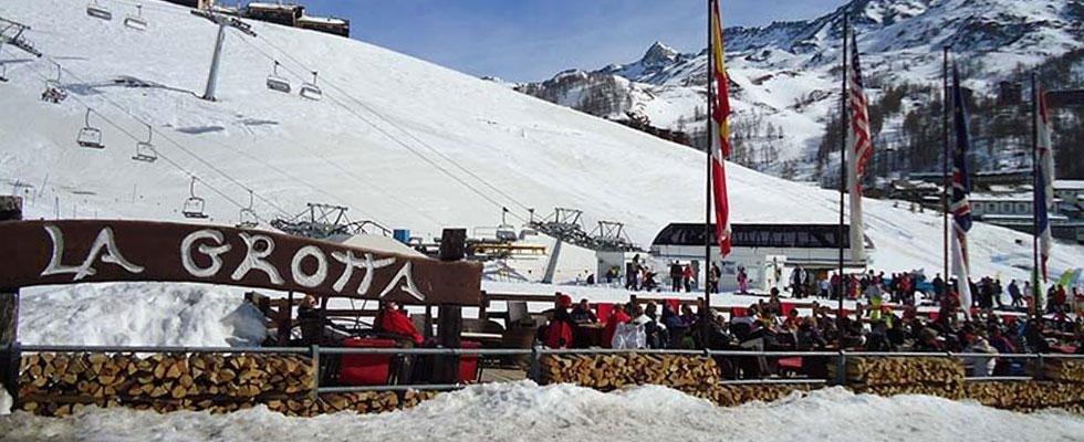 Ristorante Bar sulle piste da sci a Cervinia