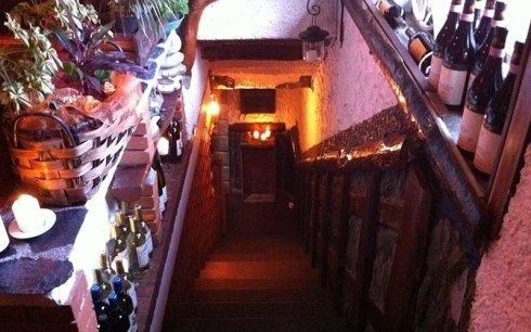 Scala del ristorante