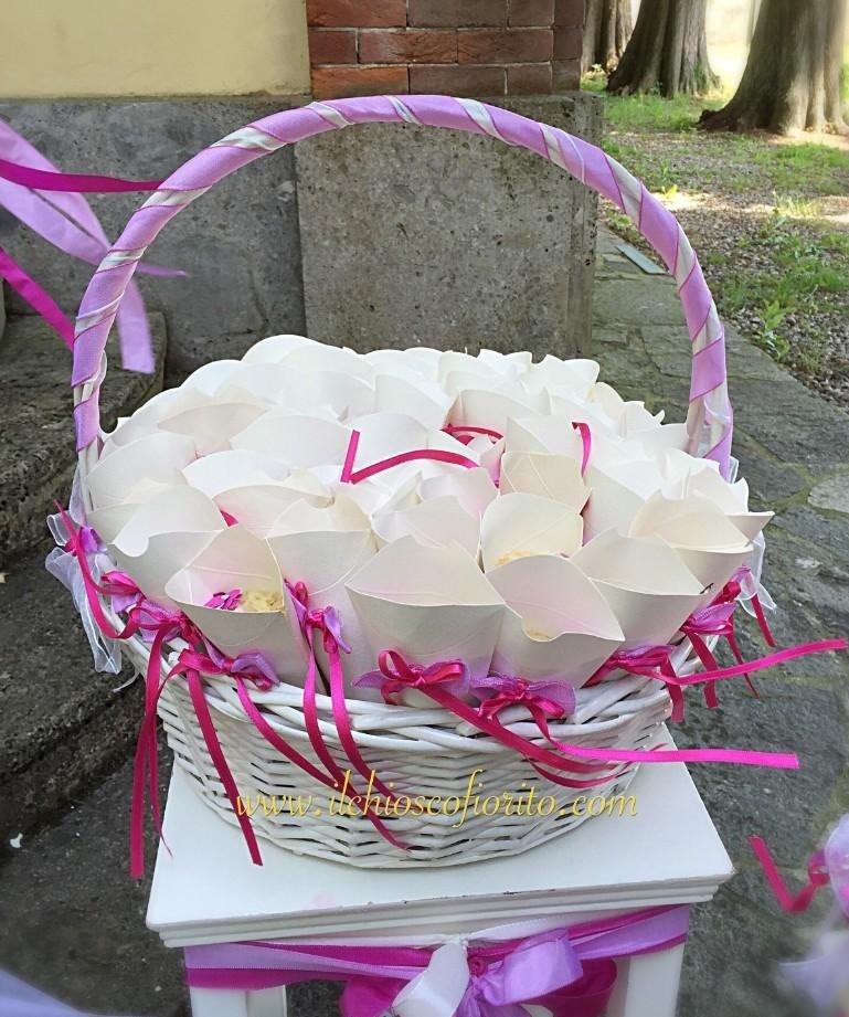 coni per il riso per cerimonie