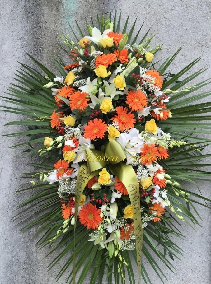 cuscini floreali per funerali
