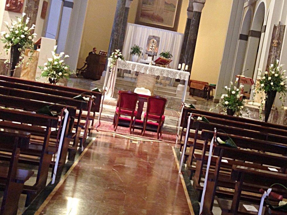 addobbi matrimonio chiesa