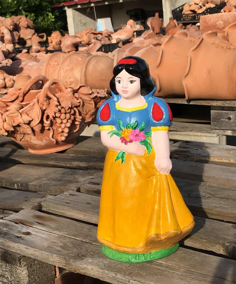 Statuine in terracotta