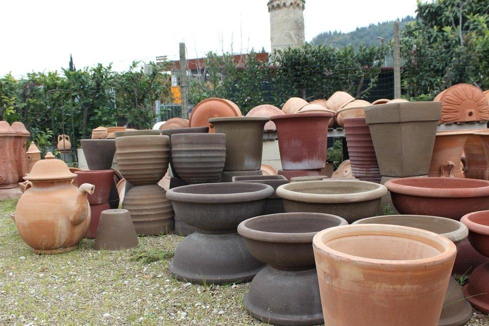 Terrecotte da esterno firenze le terrecotte di elena - Vasi colorati esterno ...