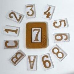numero civico, lettere alfabeto