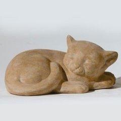 gatti in terracotta, manufatti in ceramica