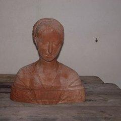 bassorilievi in cotto, busti in cotto