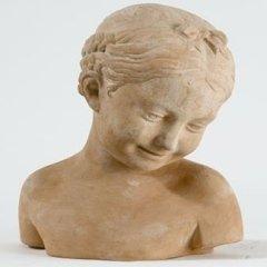 opere in terracotta, busti personaggi storici famosi