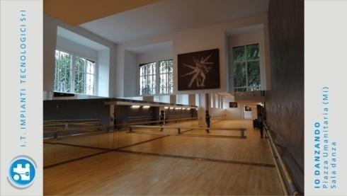 Io Danzando – Piazza Umanitaria (Milan) – Dance room