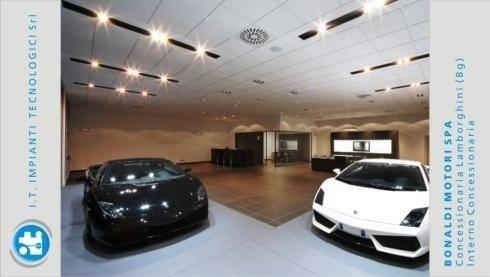 Bonaldo Motori spa – Lamborghini dealership (Bergamo) – Outside the dealership