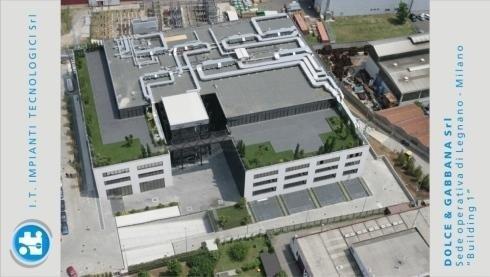 "Dolce & Gabbana srl - Sede operativa di Legnano – (Mi) – Sottostazione Termica ""Building 2"""