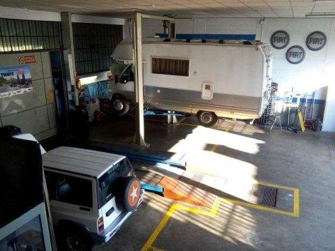 Officina riparazione veicoli