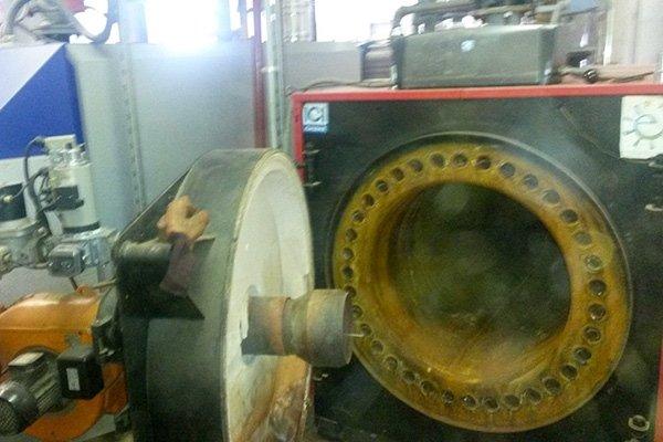 pulizia caldaie industriali