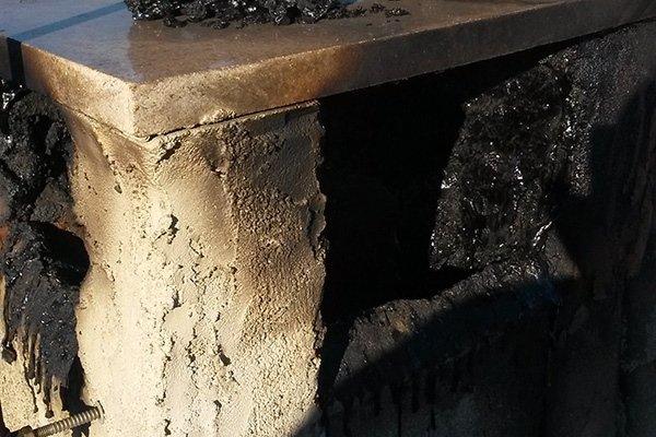 eliminazione scorie camini