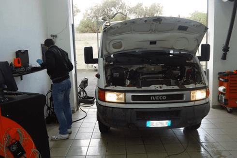 controllo stato furgoni