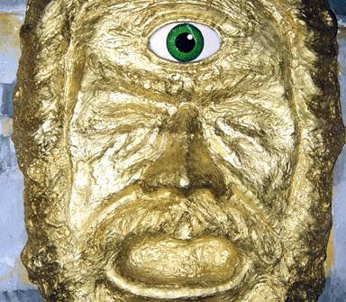 maschera di un ciclope
