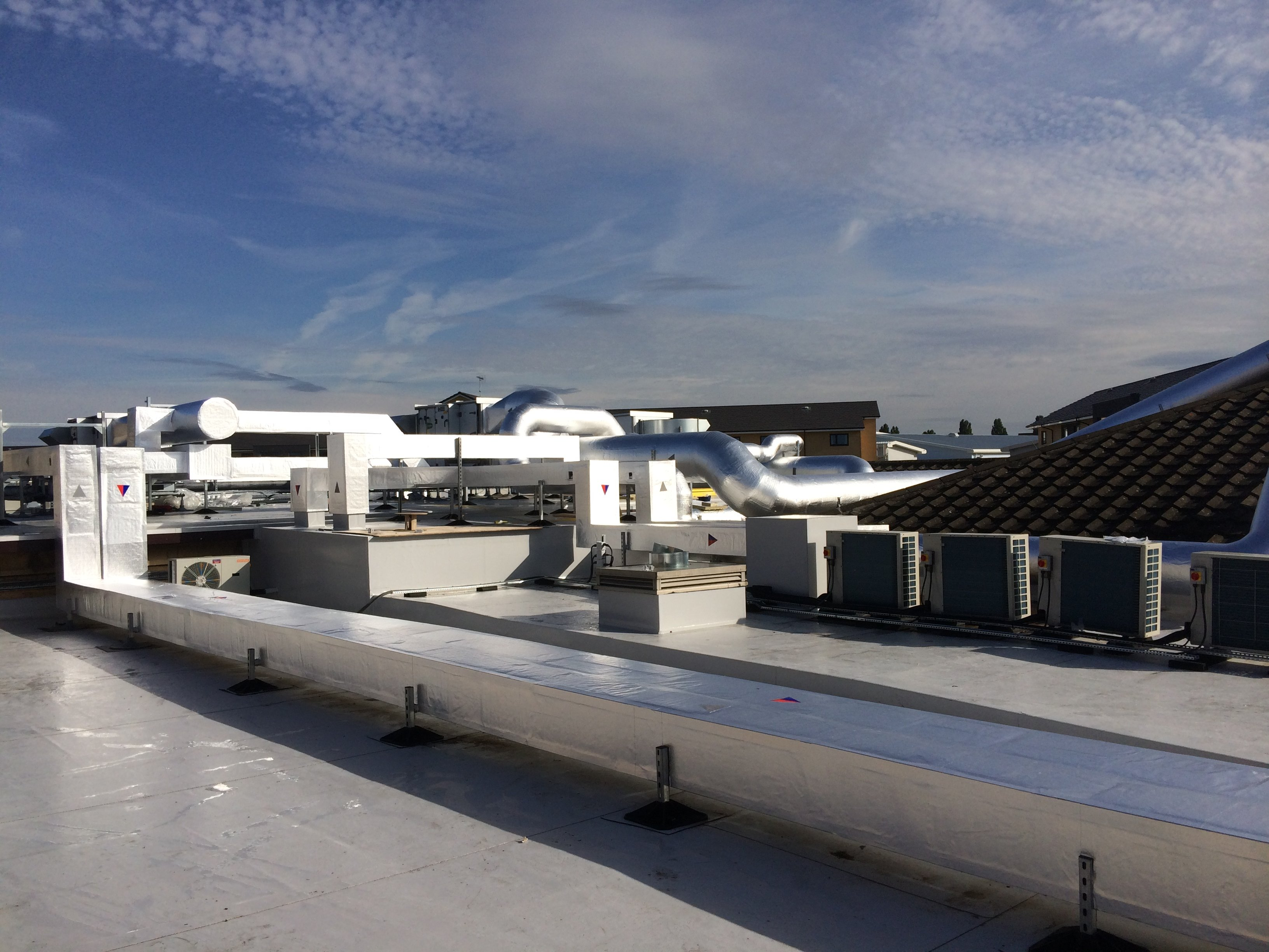 rooftop ductwork