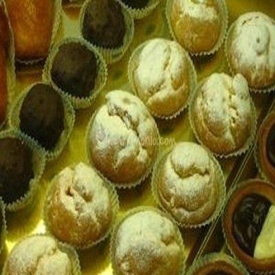 pasticcini al cioccolato e alla vaniglia