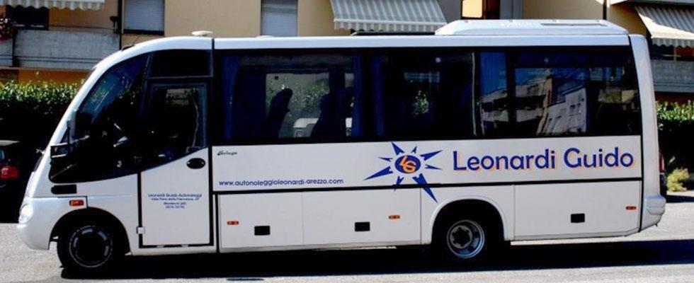 Noleggio autobus 25 posti