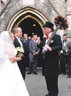 Hire A Lucky Chimney Sweep For Your Wedding
