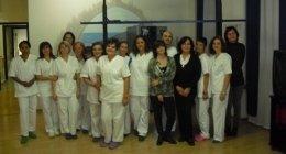 staff infermieristico, fisioterapisti, riabilitazione