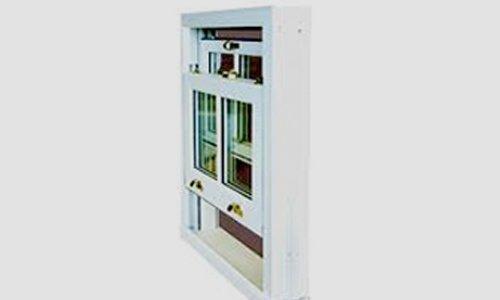 vertical sliding window