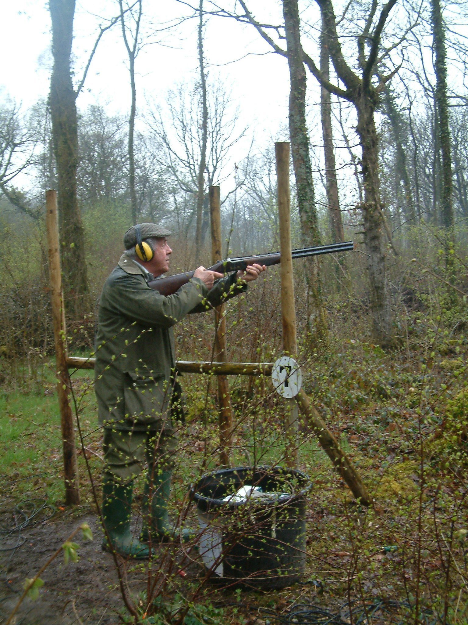 woodland shooting