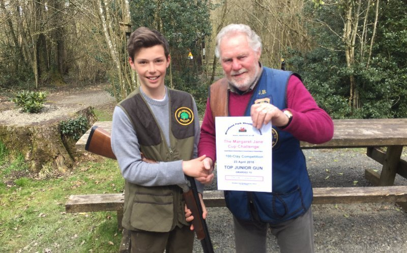 TOP JUNIOR GUN certificate