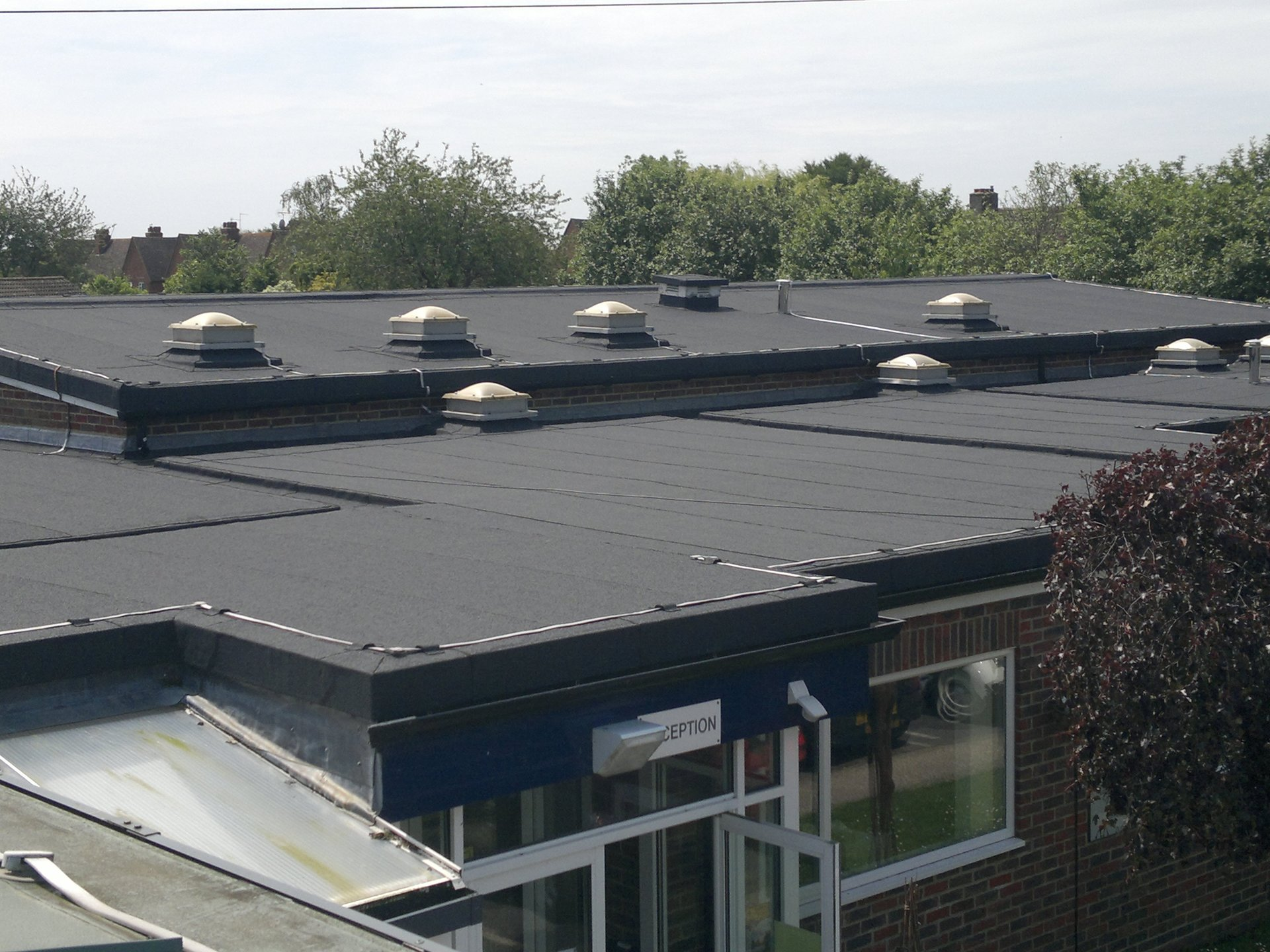 Roofing Contractors The Russell Asphalt Co