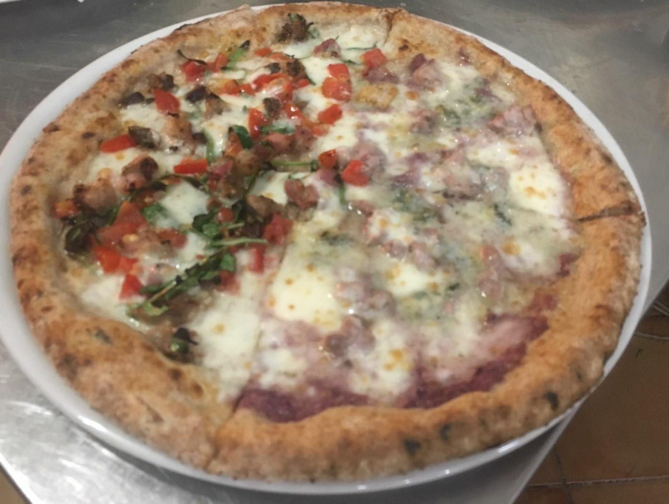 Pizzette della Pizzeria Pulcinella a Nocera Inferiore