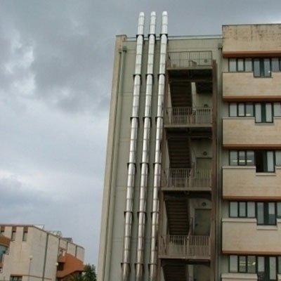 impianto di riscaldamento multilivello