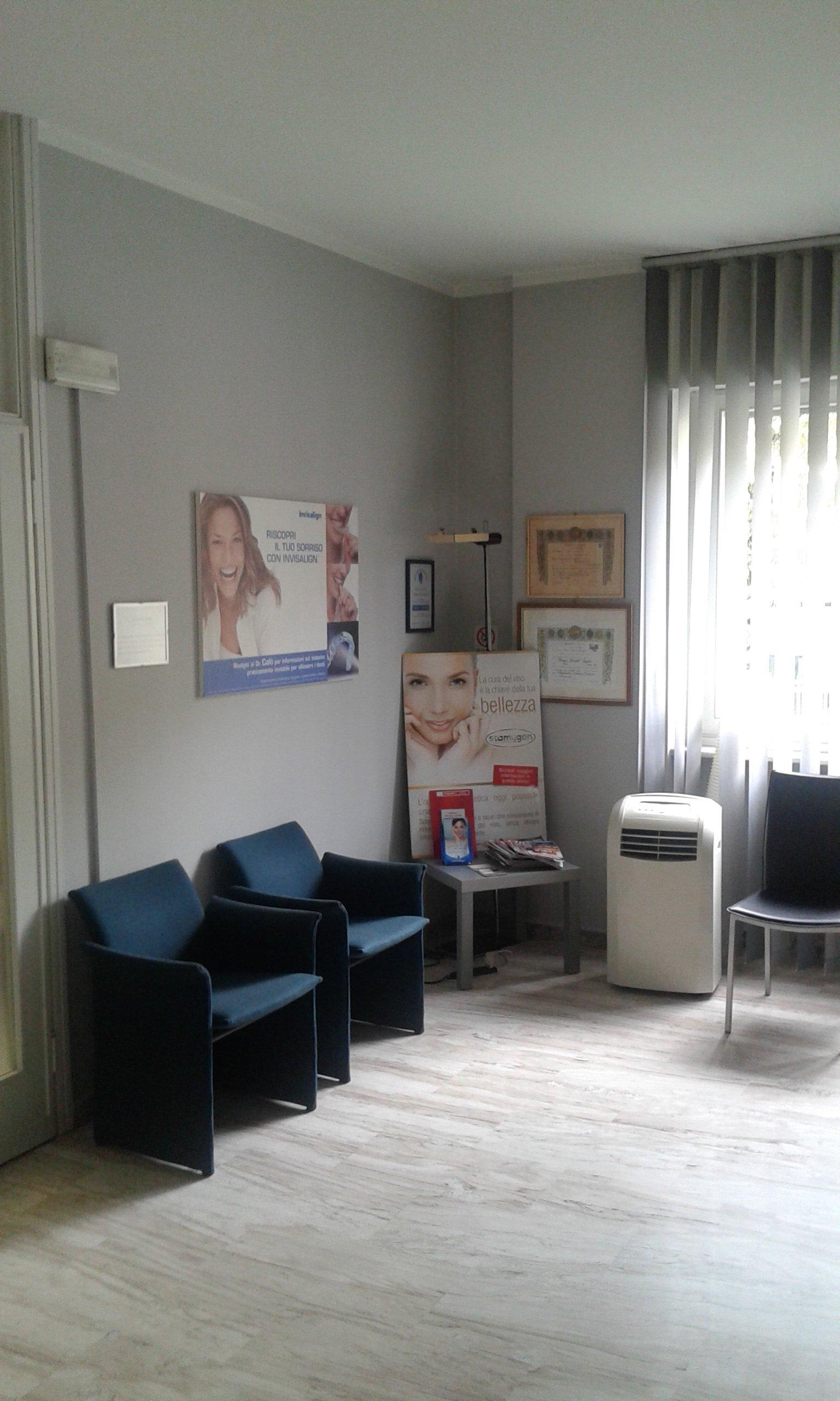Sala d'attesa del dentista