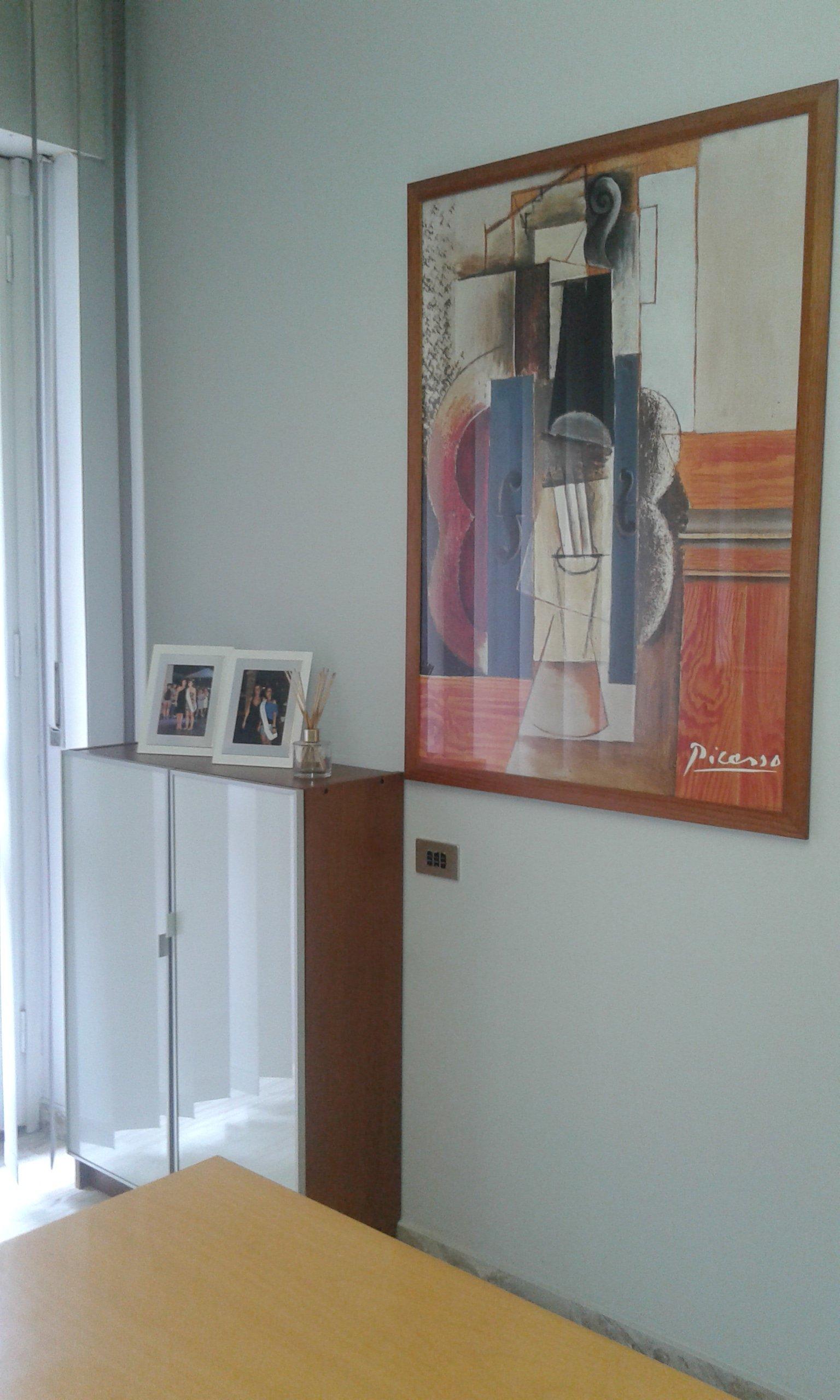 parete dello studio dentistico