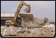 Demolizioni e riciclaggio