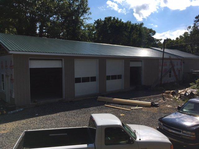 New Garage Doors Added