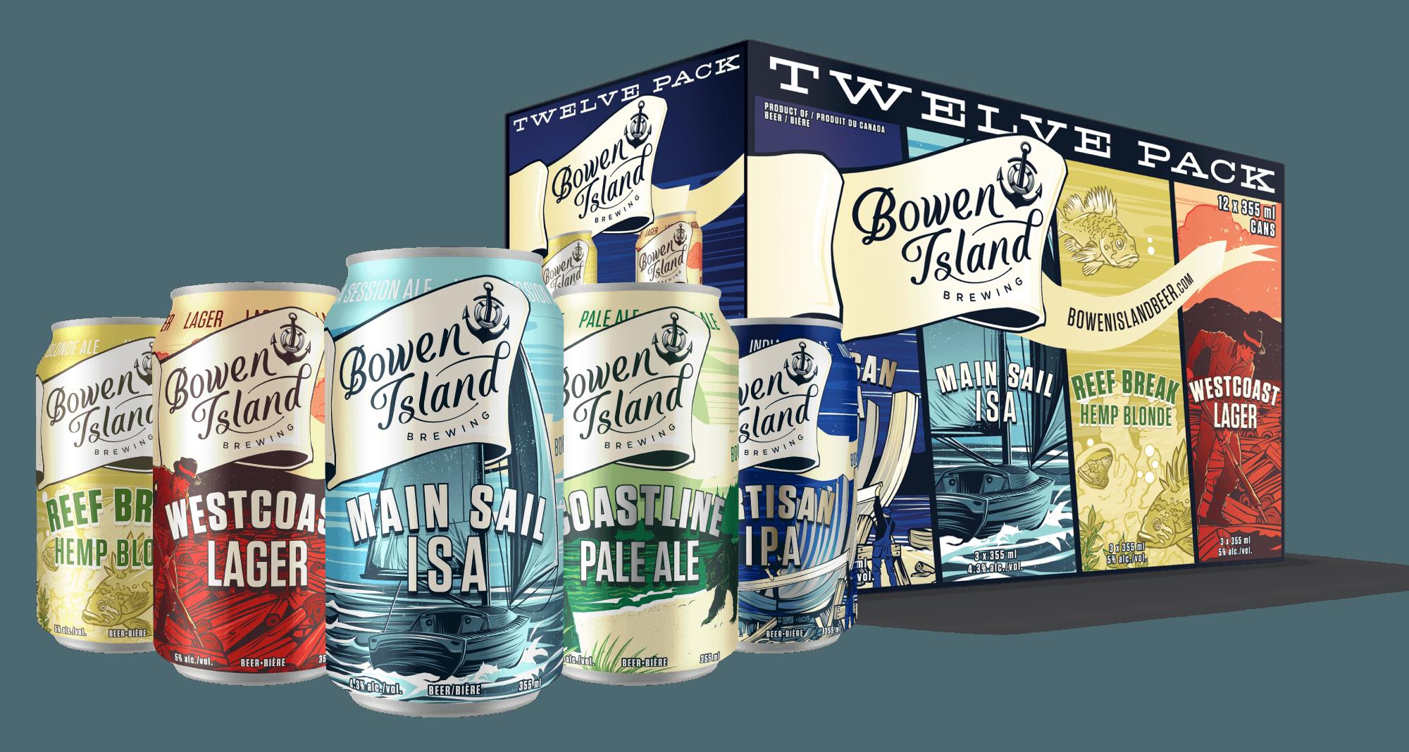 Adventure pack of beer