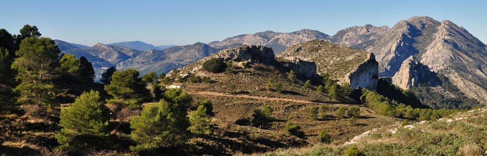 High valleys in the Sierra Aixorta