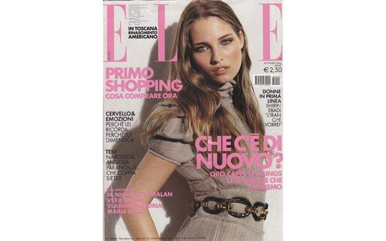 copertina Elle con scritta  COSA CE DI NUOVO?