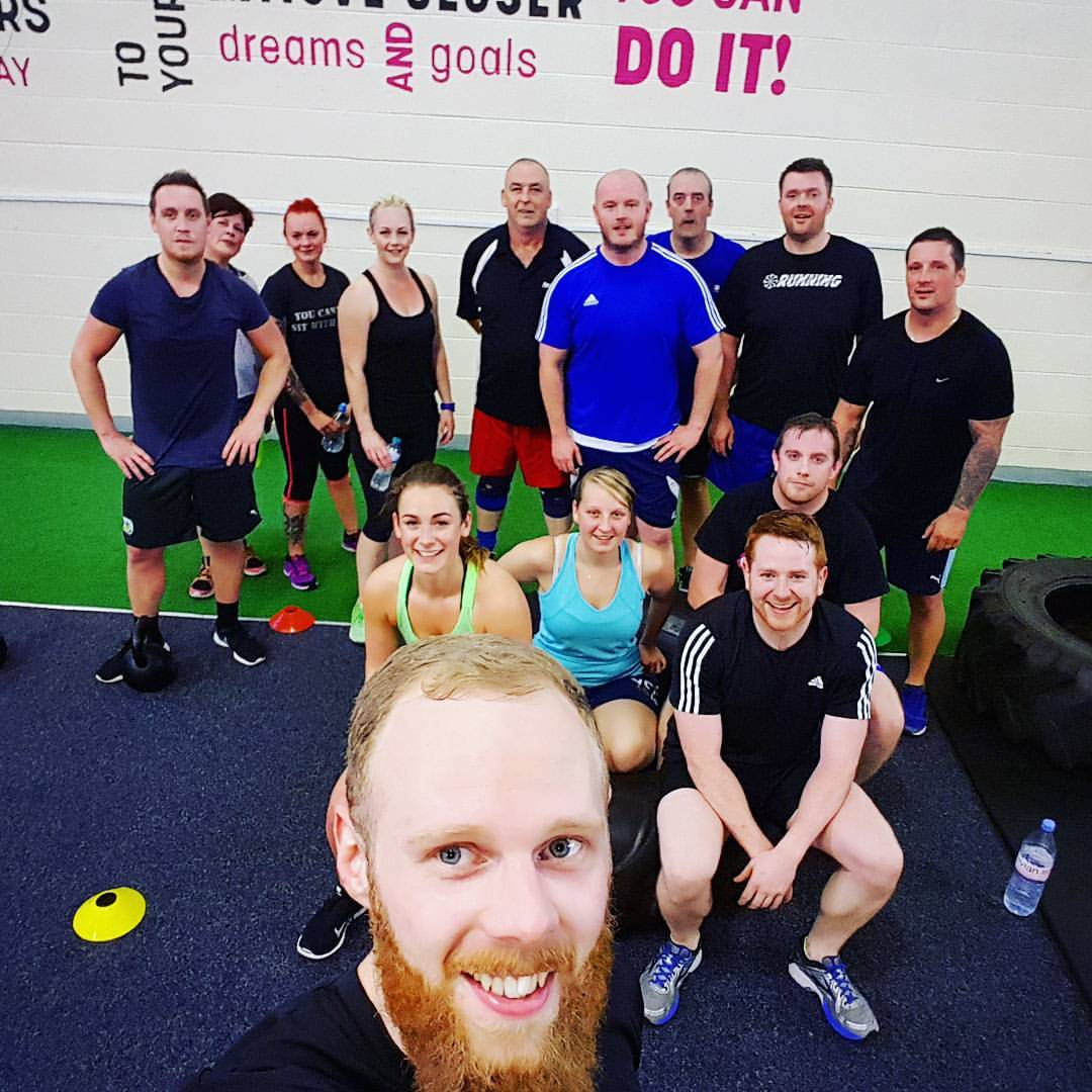 Image of group fitness with Phil Riley at FLS Fitness