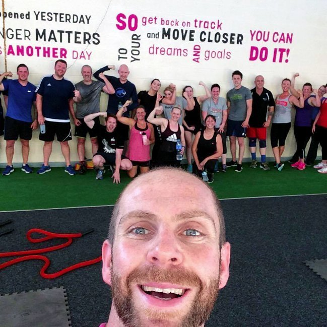 Image of group fitness with Anthony Tibbs at FLS Fitness